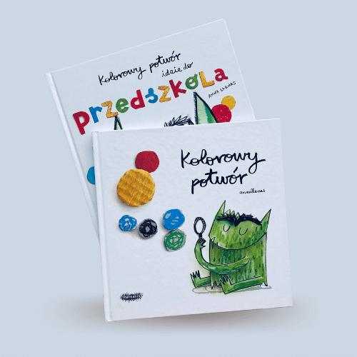Kolorowy Potwór - książeczki dla dzieci