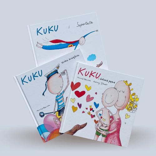 Seria książeczek dla Dzieci - Kuku