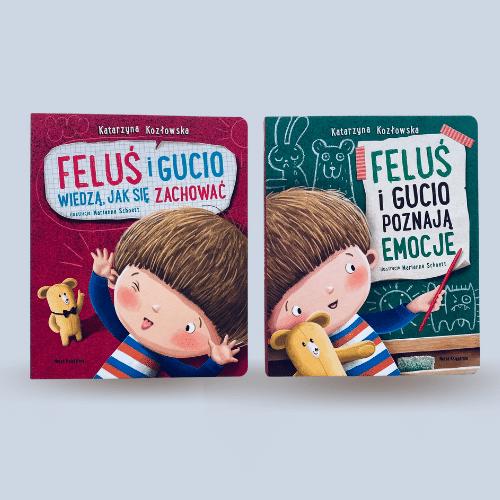 Feluś i Gucio - seria książeczek dla dzieci